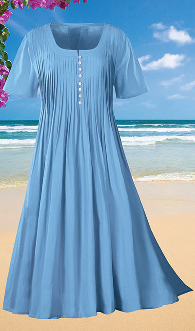 Pleated Perfectly Dress