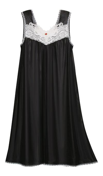 Lacy Tricot Nightgown