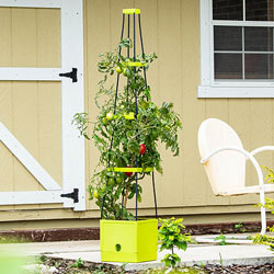 Self-Watering Plant Tower