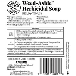 Weed Aside™ Herbicidal Soap